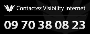 Contactez Visibility Internet 09 70 38 08 23